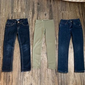 Girls Cat and Jack pants lot